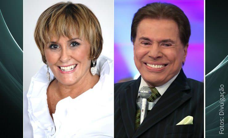 Márcia Fernandes comenta superstições de Silvio Santos