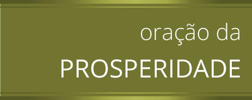 Oração das Prosperidade