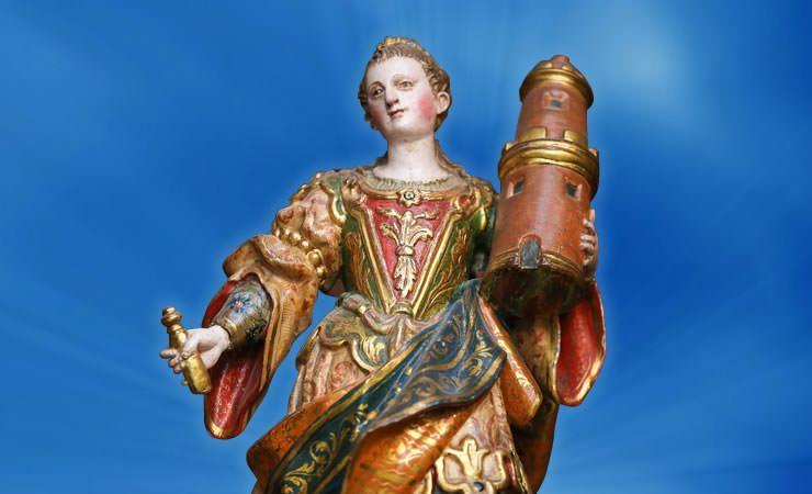 Hoje é Dia de Santa Bárbara!!!