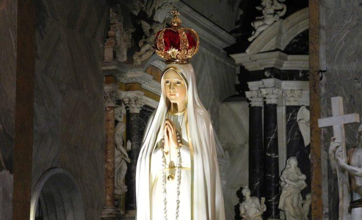 Hoje é Dia de Nossa Senhora de Fátima!