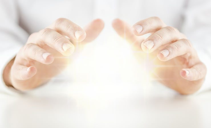 O poder de cura de nossas mãos