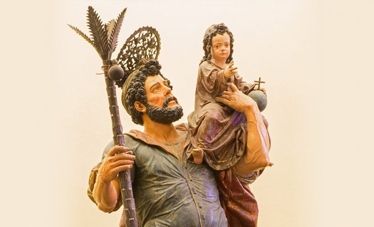 Hoje é Dia de São Cristóvão!