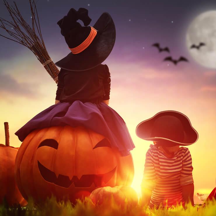 Hoje é Dia das Bruxas!!!
